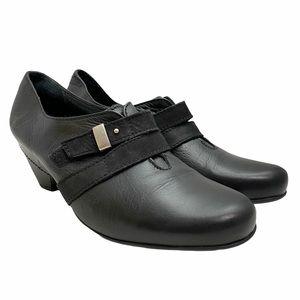 Taos Women's Salto Pump Buckle Black Shoes EUR 40
